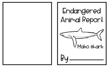 Endangered Animals - Mako Shark