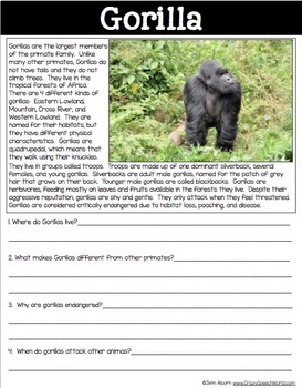 speech about endangered animals