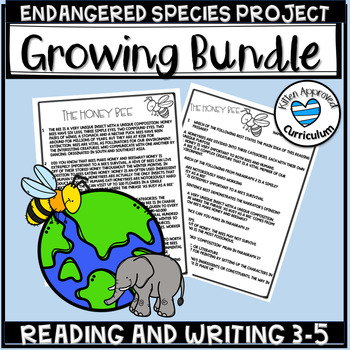 Endangered Animals Passages Bundle