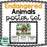 Endangered Animals Posters