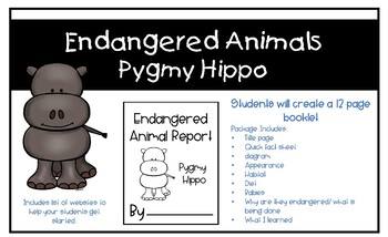 Endangered Animals - Pygmy Hippo