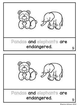 Endangered Animals Reader plus BOOM™ paperless version with audio