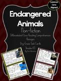 Endangered Animals Nonfiction Reading Passages