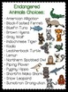 Endangered Animals {Researching & Presenting} Using QR CODES