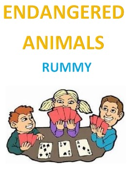 Endangered Animals Rummy