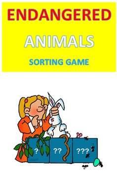 Endangered Animals Sorting Game