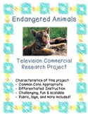Endangered Animals Television Commercial Research Project