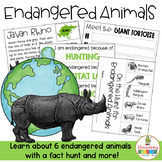 Endangered Animals for Earth Day
