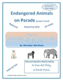 Endangered Animals on Parade