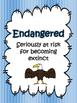 Endangered, Extinct, Threatened {Activities, Posters, Quiz