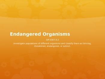 Endangered Organisms