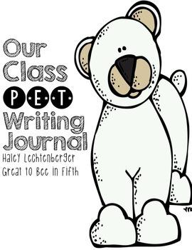Endangered Pet Bear Writing Journal Pack for the Classroom