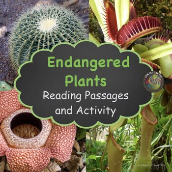 Endangered Plants:  NGSS: MS-LS2-4 and MS-LS2-5