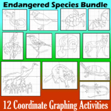 Endangered Species Bundle - 8 Coordinate Graphing Activities