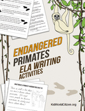 Endangered Species ELA Writing Activities