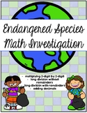Endangered Species / Earth Day Math