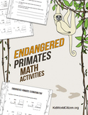 Endangered Species Math Activities