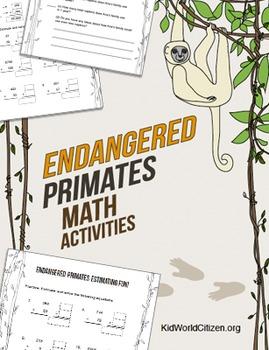 Endangered Species Math Activities