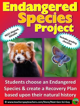 Endangered Species Project - NGSS