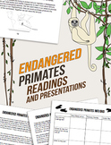 Endangered Species Project: Guided Readings and Info Grid