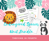 Endangered Species Research Project Bundle - Science & Geography