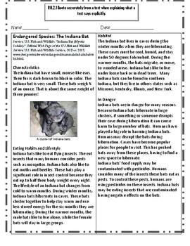 Endangered Species: The Indiana Bat
