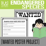 Endangered Species Science Wanted Poster