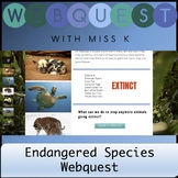 Endangered Species Webquest