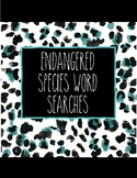 Endangered Species Word Searches Difficult