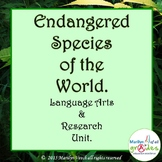 Endangered Species of The World. Research, Activities and