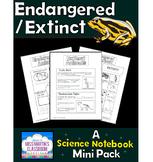 Endangered and Extinct Animals Interactive Notebook