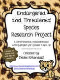 Endangered and Threatened Species Comprehensive Research Project