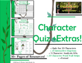 Endangered by Eliot Schrefer Character Quiz & Word Wall