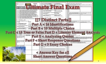 Endangered by Eliot Schrefer Final Exam Common Core