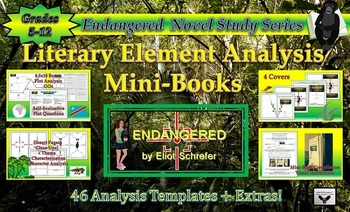 Endangered by Eliot Schrefer Literary Analysis Mini-Book Common Core