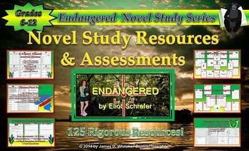 Endangered by Eliot Schrefer Novel Study Assessments & Resources