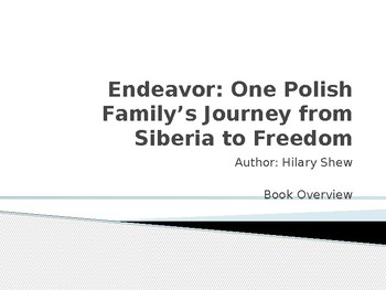 Endeavor by Hilary Shew -- Book Overview PowerPoint