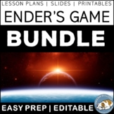 Ender's Game Activity Bundle