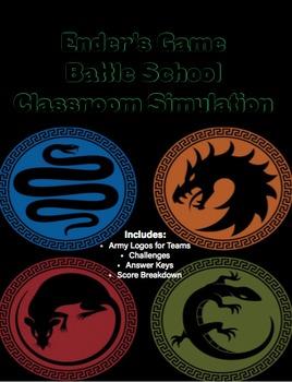 Ender's Game Battle School Simulation