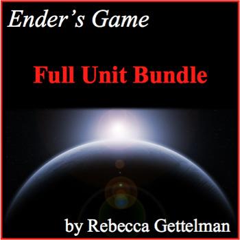 Ender's Game by Orson Scott Card Full Unit Novel Study