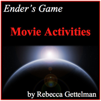 Ender's Game Movie Activities