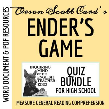 Ender's Game Quiz Bundle (Set of 4)