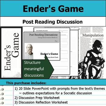 Ender's Game - Socratic Method - Post Reading Discussions