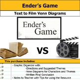Ender's Game - Text to Film Venn Diagram & Film Essay