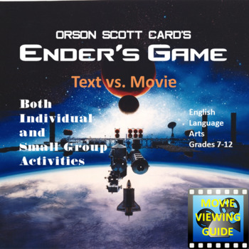 Ender's Game Video Text Connection