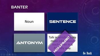 Ender's Game Vocabulary Digital Interactive Flashcard Set