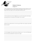 Ender's Game - Discussion and Chapter Questions, Final Wri