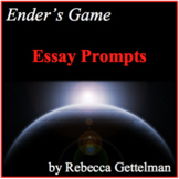 Ender's Game Essay Prompts