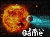 Ender's Game - Full Novel Unit