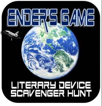 Ender's Game Literary Device Scavenger Hunt